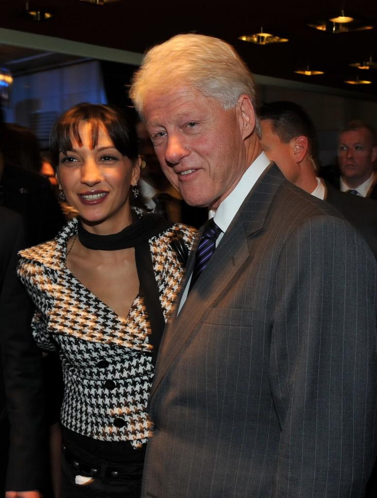 Bill Clinton & Dragana Djermanovic